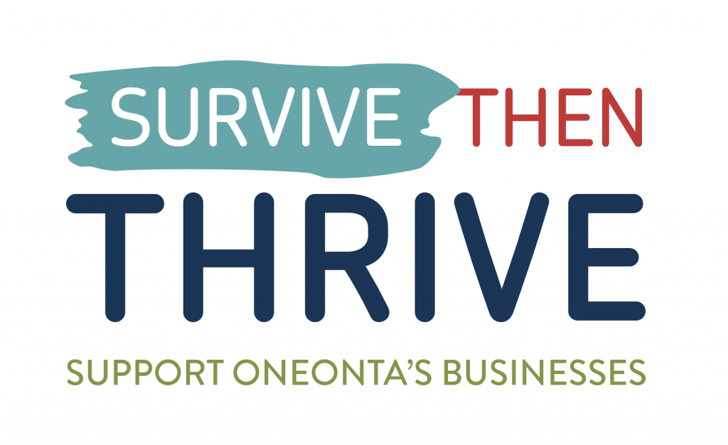Survive Then Thrive Support Oneonta's Businesses